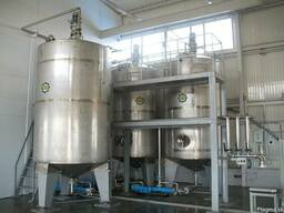 The Mixers-Tanks for Liquid Products. Manufacture.