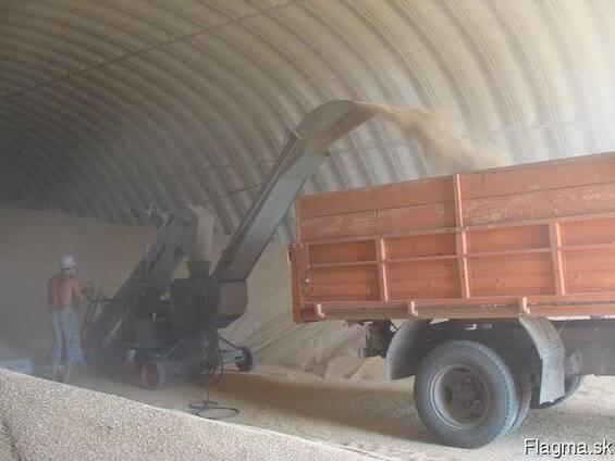Зернохранилища напольного типа - стальные амбары склады