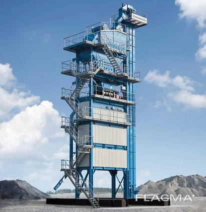 Б/У Асфальтный завод Benninghoven ECO- 320 т/ч, 2015 г