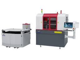 CNC stroj na rezanie vodného kameňa z kovového skla