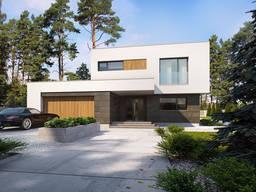 Каркасный дом 226м2 за 75000€