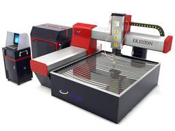 Malý stroj na rezanie vodným lúčom kovov a stroj na rezanie