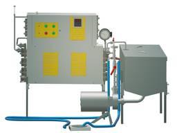 Пастеризатор на 300 л проточный УЗМ-0, 3