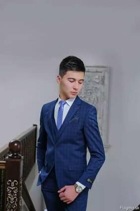 Slim men suits from Uzbekistana