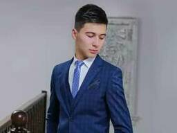 Slim men suits from Uzbekistana