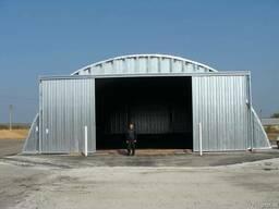 Зернохранилища напольного типа - стальные амбары склады - фото 2