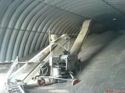 Зернохранилища напольного типа - стальные амбары склады - фото 4
